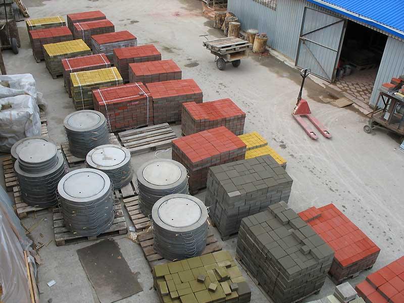 Бизнес по изготовлению тротуарной плитки
